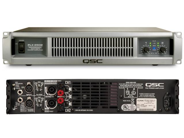 QSC PLX2502 675w @4Ohms
