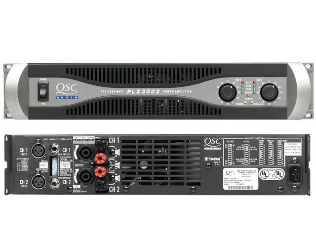 QSC PLX 3002 900w@4ohms per channel