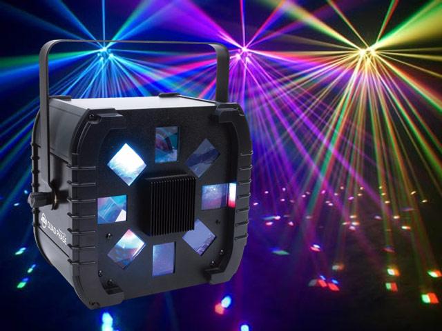 American DJ Quad Phase lighting effect