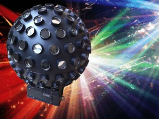 Rotating ball LED Disco Effect
