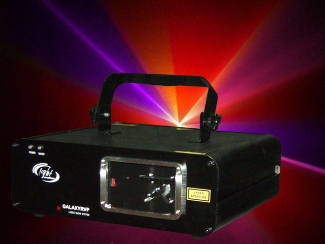 150mW red,150mW violet and pink DMX controlled laser effect,GALAXY*MK2models can work in Master/Slave mode with each other