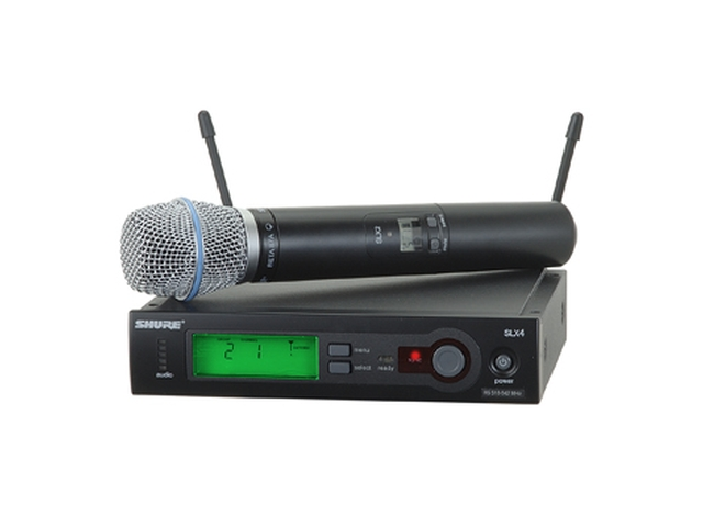 Shure SLX Beta/SM 58 HH UHF Wireless Microphone