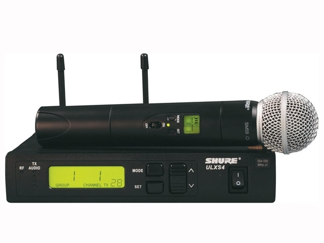 Shure ULX Beta58 Wireless Microphone System