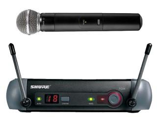 Sm58 PGX2 and PGX4 Wireless System