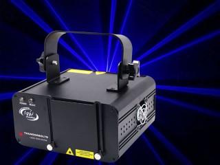 400mW single blue scanned beam effect laser