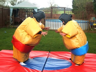 Sumo Suits with mat (adult)