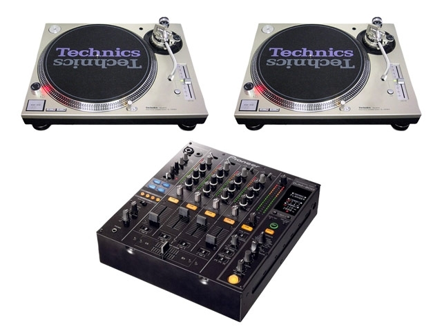 Turntable Mixer Pack 2